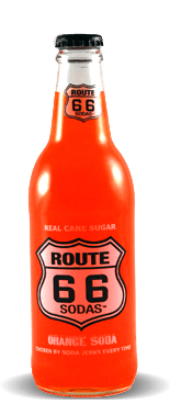 Route 66 Sodas Orange Soda – Soda Pop Stop