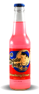 Soda Boy - Strawberry Cream - Soda Pop Stop