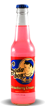 Soda Boy – Strawberry Cream – Soda Pop Stop