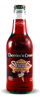 Stewart's Fountain Classics Old Fashioned Cherries N' Cream Soda - Soda Pop Stop