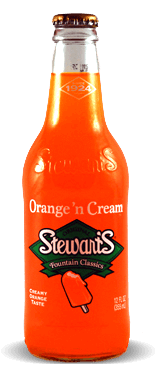 Stewart's Fountain Classics Orange N' Cream Soda - Soda Pop Stop