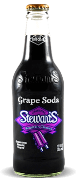 Stewart's Fountain Classics Original Grape Soda - Soda Pop Stop