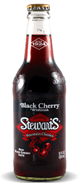 Stewart's Fountain Classics Original Wishniak Black Cherry Soda - Soda Pop Stop