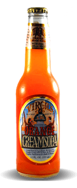 Virgil's Micro Brewed Orange Cream Soda - Soda Pop Stop