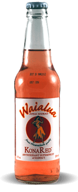Waialua Soda Works Kona Red Antioxidant Superfruit Of Hawaii – Soda Pop Stop