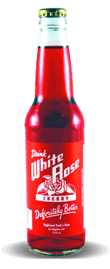 White Rose Springs Cherry Soda - Soda Pop Stop