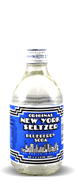 Original New York Seltzer Blueberry Soda – Soda Pop Stop