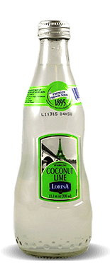 Lorina Sparkling Coconut Lime Premium French Soda  – Soda Pop Stop