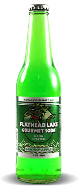 Flathead Lake Gourmet Soda: Granny-Apple | Soda Pop Stop