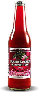 Flathead Lake Gourmet Soda: Huckleberry | Soda Pop Stop