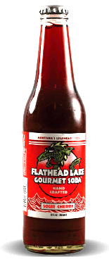 Flathead Lake Gourmet Soda: Sour Cherry | Soda Pop Stop
