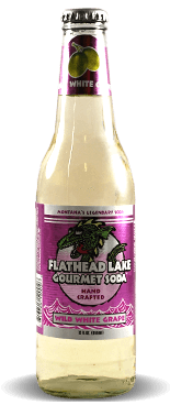 Flathead Lake Gourmet Soda: Wild White Grape | Soda Pop Stop