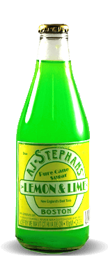 AJ Stephans Lemon & Lime | Soda Pop Stop